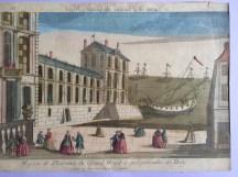 Maison the plaisance du grand Mogol a quelques milles de Dely, ca. 1760 Basset