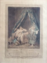 Le Levee, french ritual of getting up, etiquette, 1774, Freudenberg