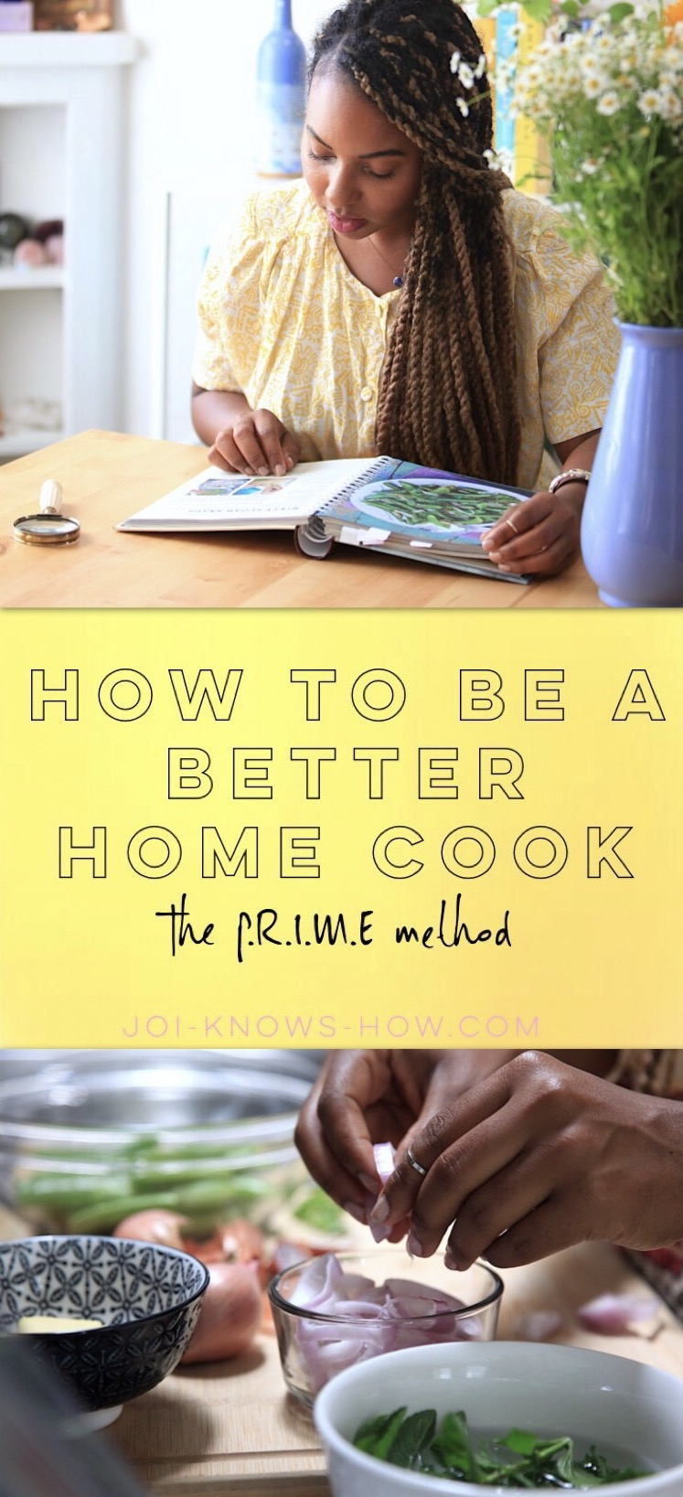 The PRIME Method for Home Cooking