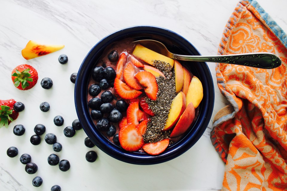 Gut-healing Açai bowl from Joi-knows-how.com