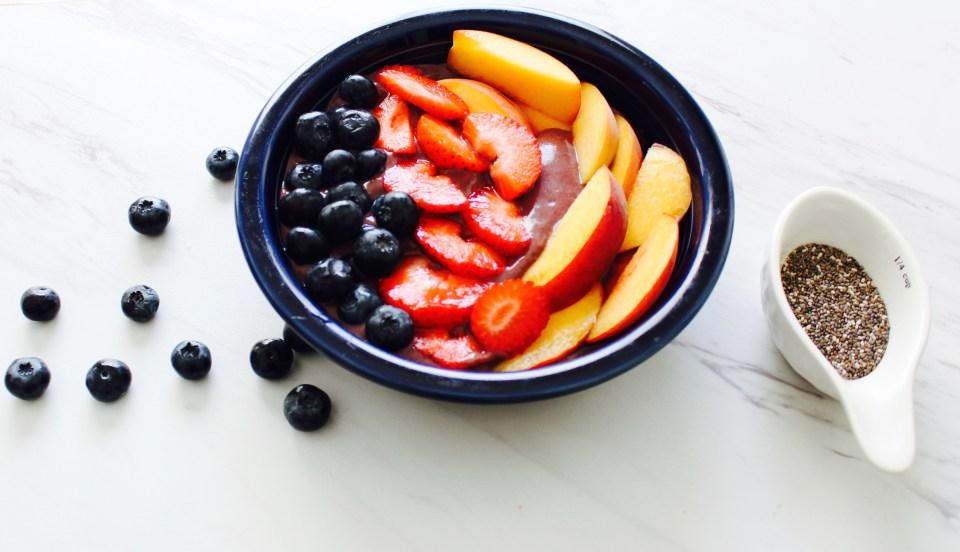Gut-healing Açai bowl from Joi-knows-how.com