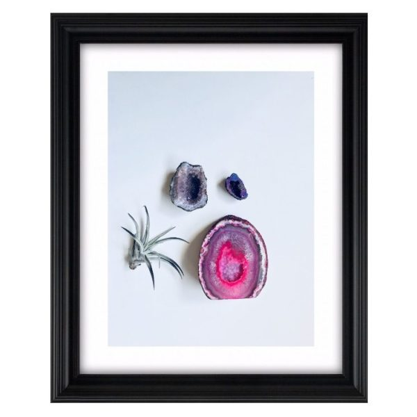 """Joi Knows How Crystal Art Print in """"Geodes"""""""
