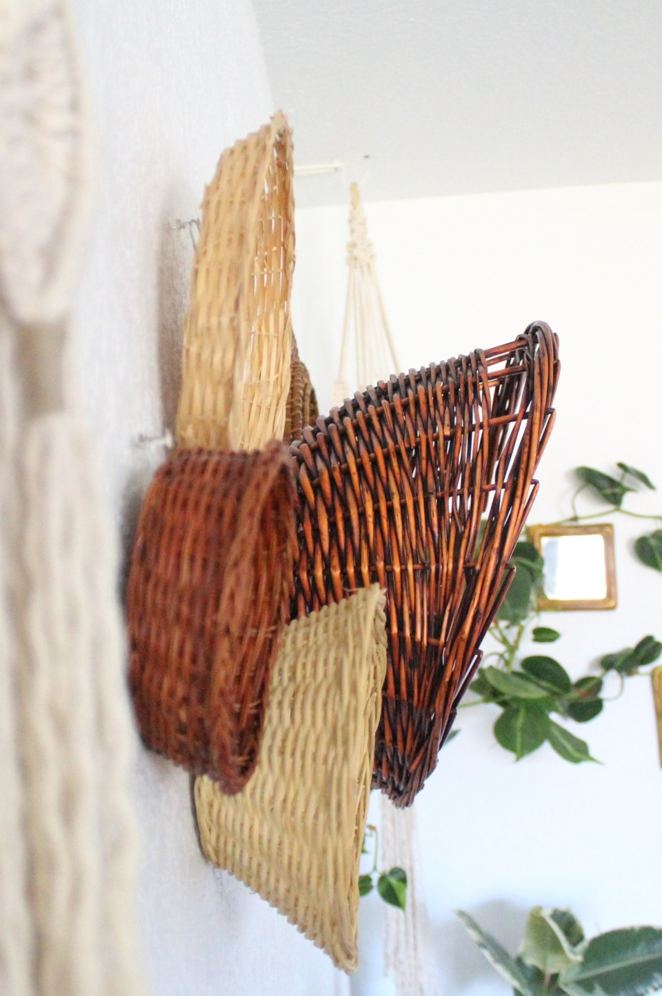 The only tutorial you need for creating a beautiful hanging basket wall