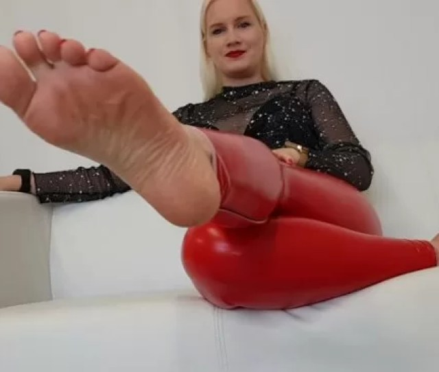 I Ordered You To Me You Sit Excitedly And With A Throbbing Heart And Tight Pants In Front Of Me My Big Beautiful Feet Immediately Put You Under My Spell