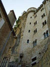 Inside the city of Rocamadour