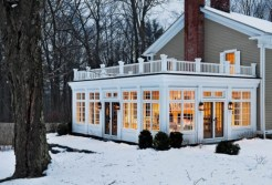 Sun Room, Large Balcony, Winter