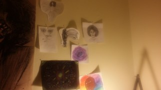 More drawings and paintings