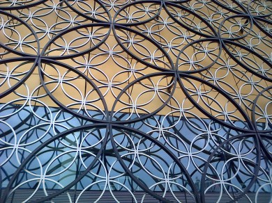 Ironwork on the Library of Birmingham