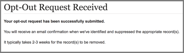 remove yourself from archives.com opt out removal