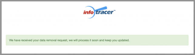 infotracer removal infotracer opt out info tracer