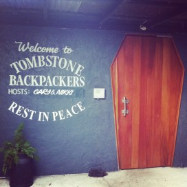 tombstone backpackers