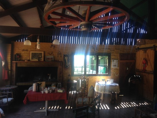 Breakfast at the ranch