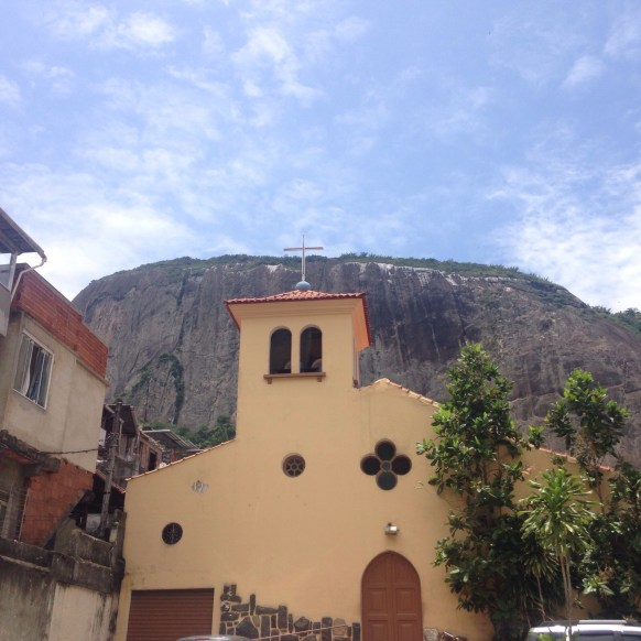 Favela church