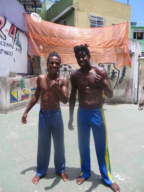 Capoeira guys