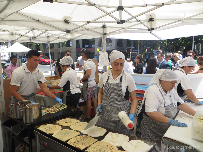 The Rocks Foodie Market