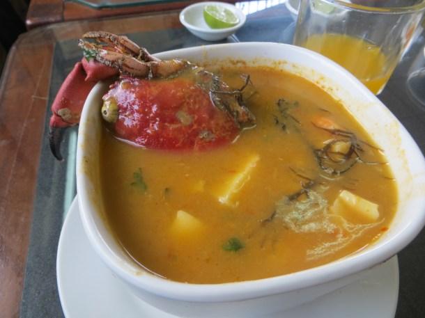 Parihuela Seafood Soup