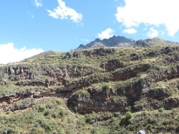 Empty Inca graves