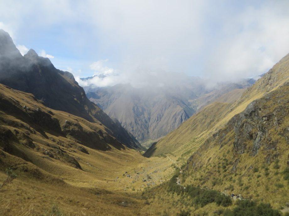 Inca Trail dead womans pass