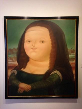 Botero's Mona Lisa