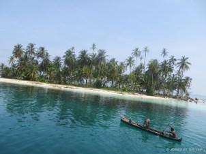 Local Kuna fishermen