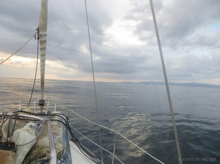 Arriving to San Blas at dawn