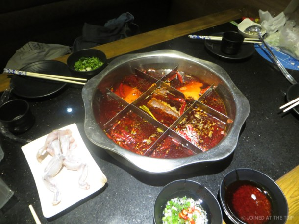 Hotpot and bullfrog