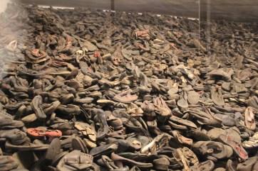Auschwitz shoes