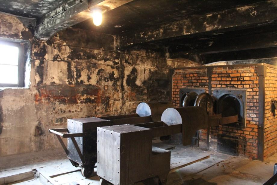Auschwitz gas chamber ovens