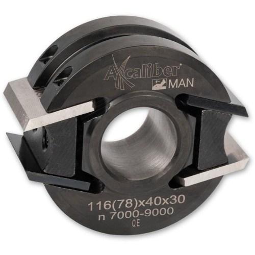 SECOND HAND CMT CUTTER HEAD - 78MM DIAMETER, 30MM BORE