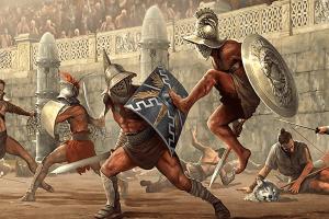 Вегетарианская диета древних гладиаторов