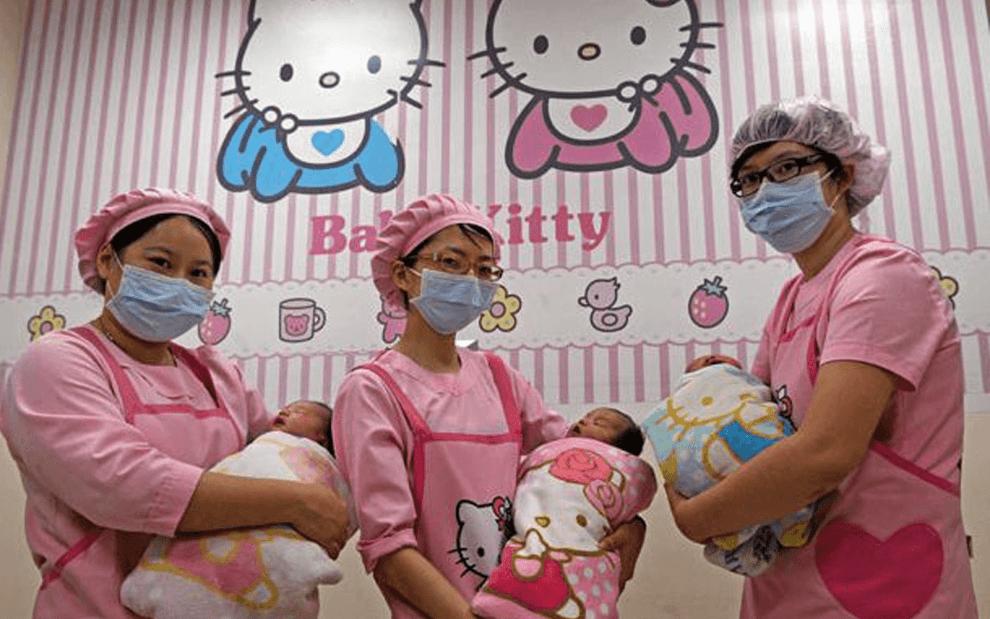 """Больница """"Hello Kitty"""" в Тайване"""