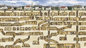Деринкую - крупнейший подземный город
