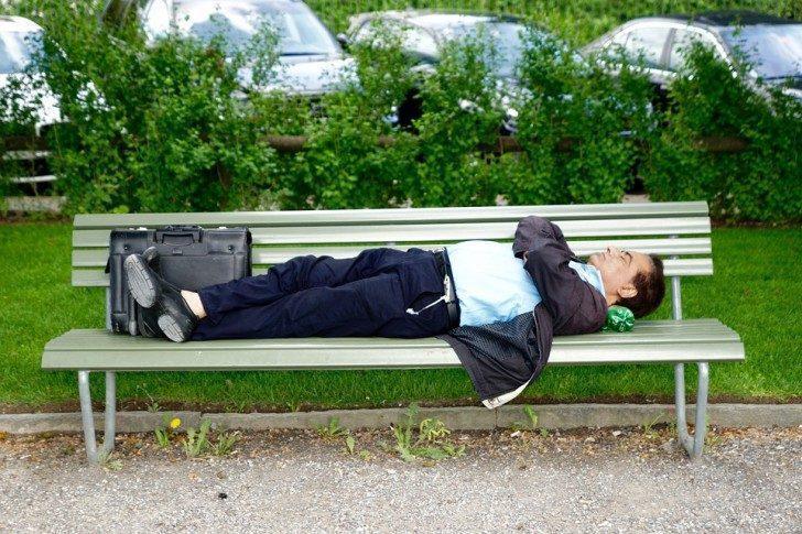 Общественный сон в Японии