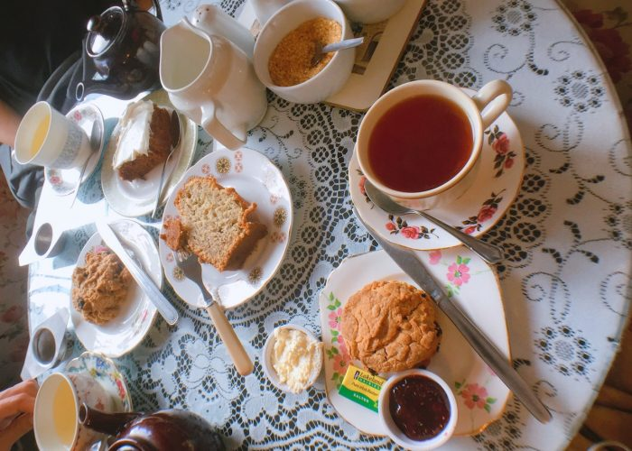 愛丁堡 Edinburgh:Clarinda's Tearoom 茶屋