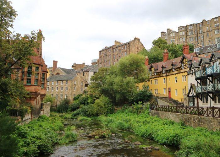 愛丁堡Edinburgh:迪恩村(Dean Village)