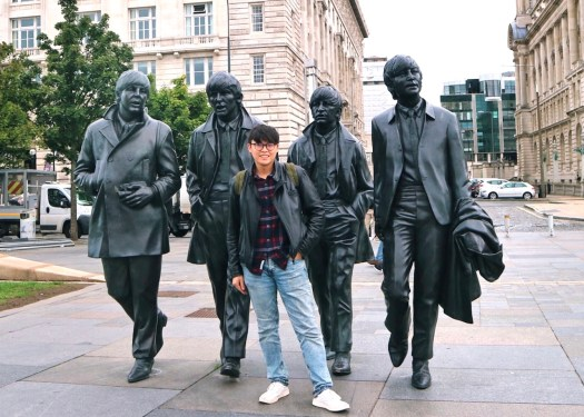 Liverpool Liverpool: The Beatles statues