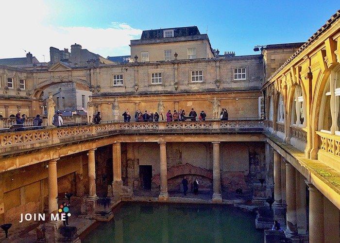 巴斯 Bath:巴斯羅馬浴場(Roman Bath)