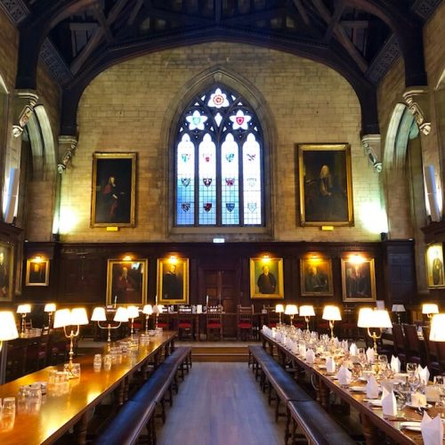 Itinerary: Oxford oxford