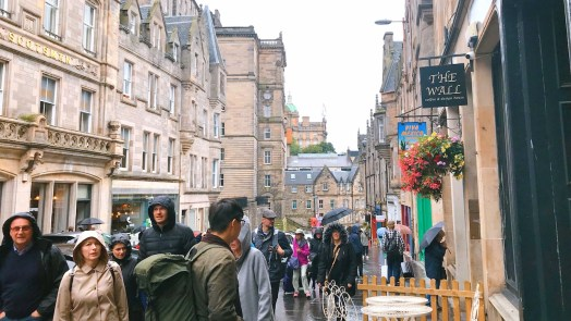 Cover 爱丁堡街景