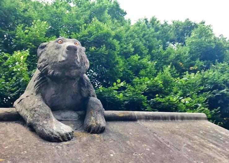 卡地夫Cardiff:卡地夫城堡(Cardiff Castle)動物石雕栩栩如生