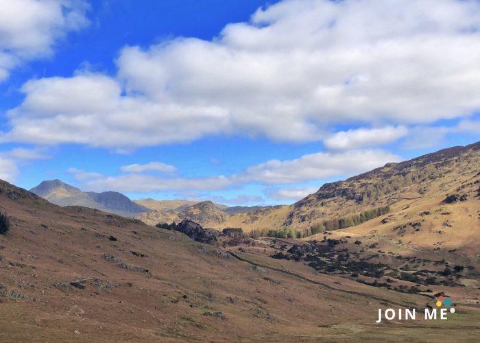 湖區 Lake District:The Langdale Pikes