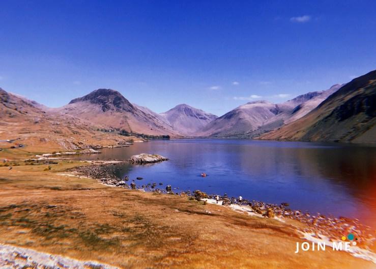 湖區 Lake District: 沃斯特湖 (Wast Water)