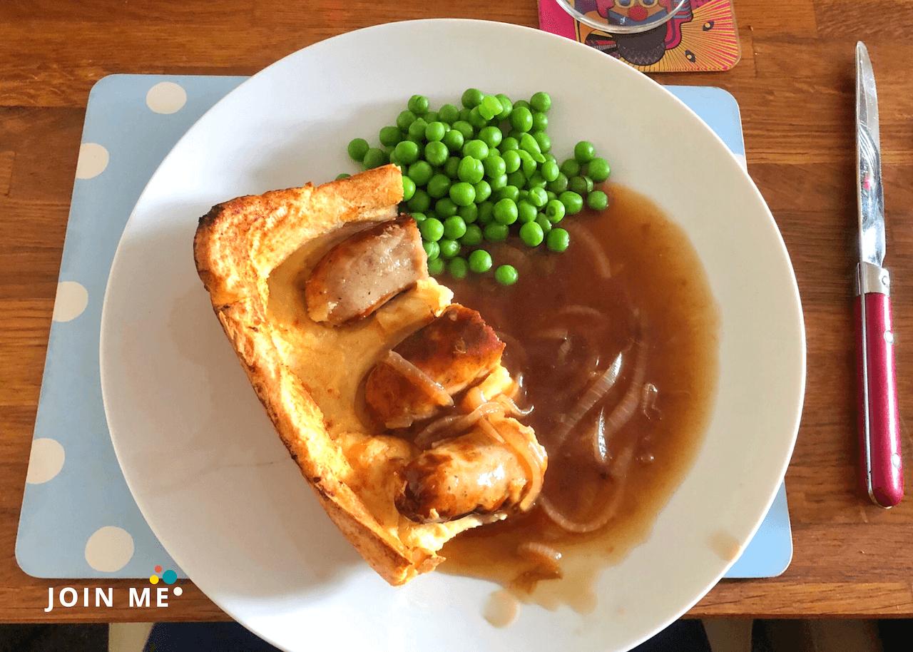 英國美食:蟾蜍在洞