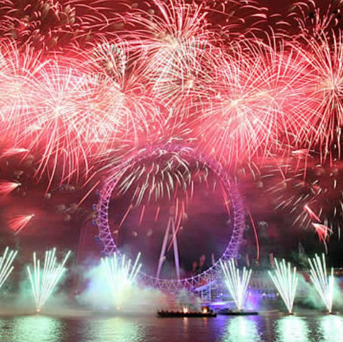 倫敦晇年煙火 London NYE Fireworks 商品