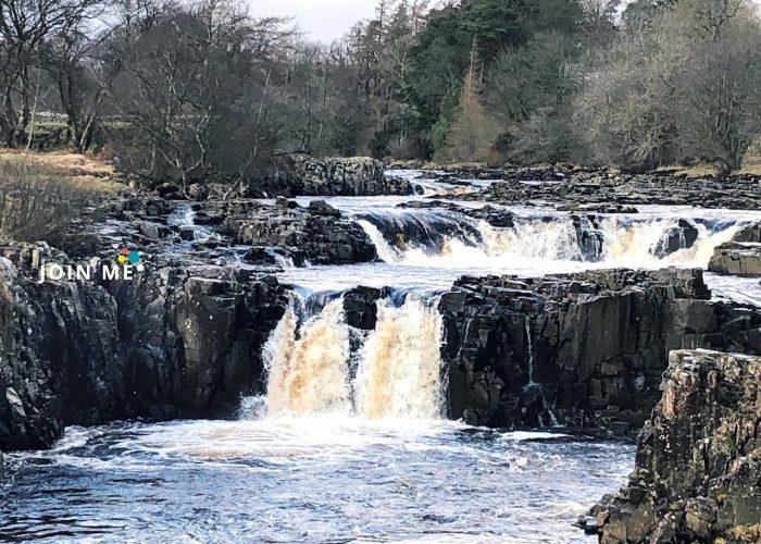 蒂斯代爾 Teesdale:Low Force Waterfalls