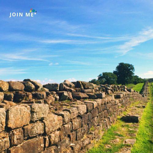 行程:哈德良長城 Hadrian's wall