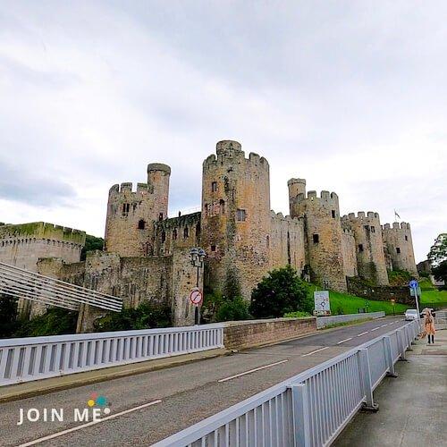 行程:康維(威)城堡 Conwy Castle