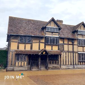 行程:雅芳河畔史特拉福Stratford-upon-Avon:Shakespeare birthplace 莎士比亞的出生地