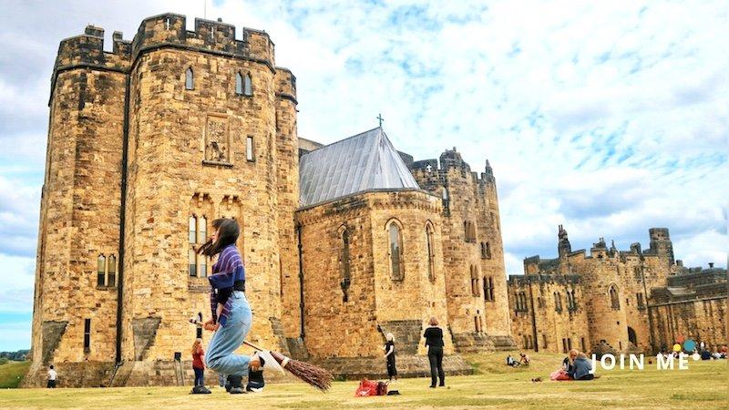 諾森伯蘭郡 Northumberland:安尼克城堡(Alnwick Castle)