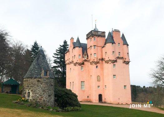 亞伯丁郡 Aberdeenshire 克雷格瓦城堡 Craigievar Castle